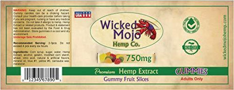 Hemp Oil Gummies - 750mg - App. 20mg Per Gummy - Best Tasting Hemp Extract Gummies with Sugar Coating - Relaxing, Pain, Stress & Anxiety Relief - Made in USA - Sunday Scaries Anxiety Relief