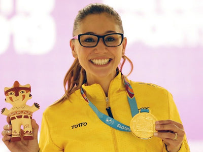 Columbia 300's Clara Guerrero Wins Singles Gold At Pan American Games