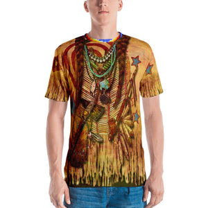 """THE POW-WOW TEE""; Men's T-shirt"