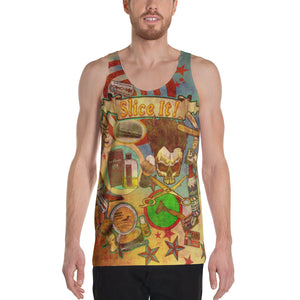 "THE ""SHAVING TATTOO TANK""; Unisex Tank Top"