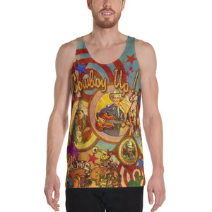 "THE ""COWBOY TATTOO TANK""; Unisex Tank Top"
