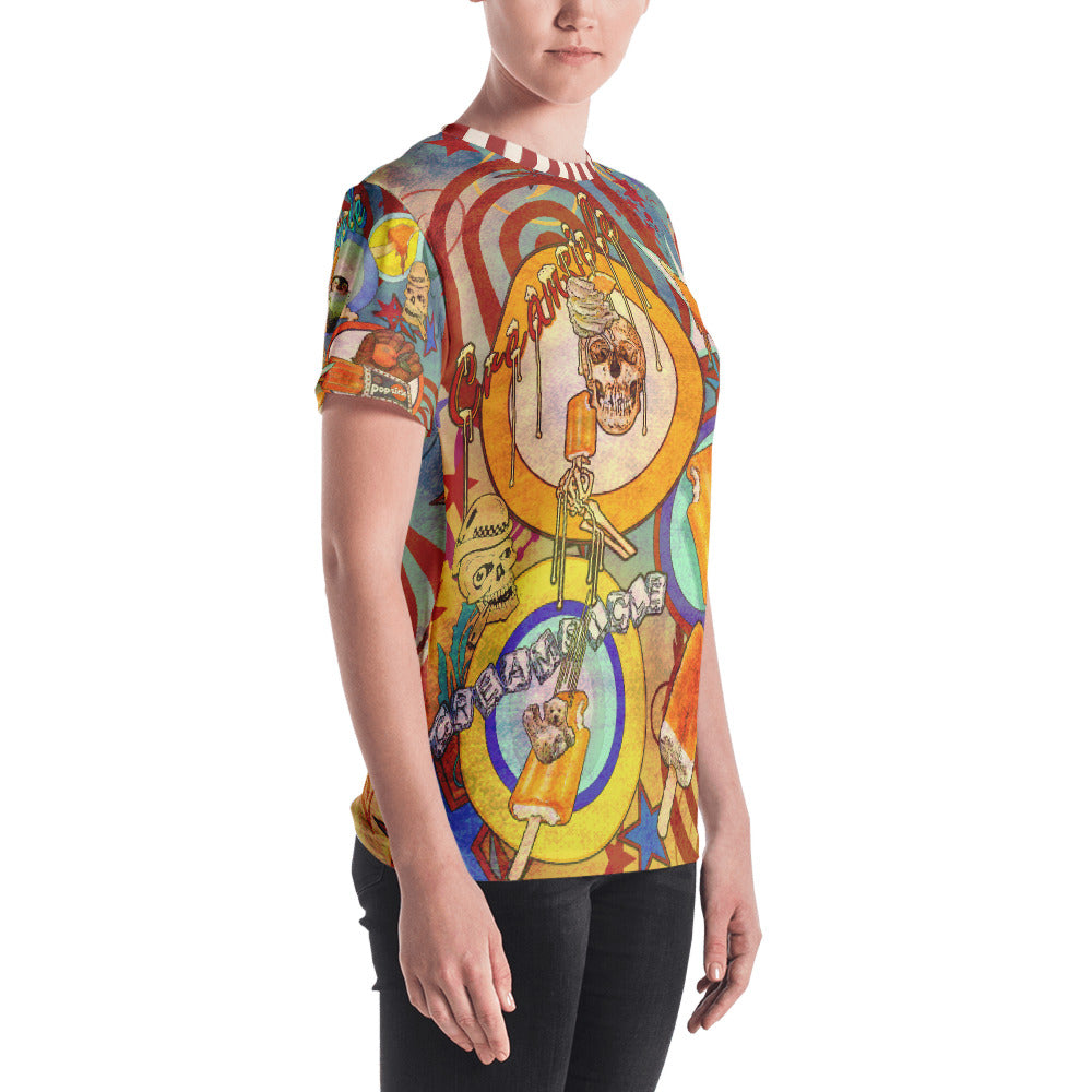 """THE DREAMCYCLE TATTOO TEE""; Women's T-shirt"