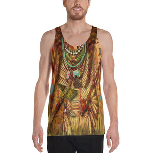 """THE POW WOW TANK""; Unisex Tank Top"