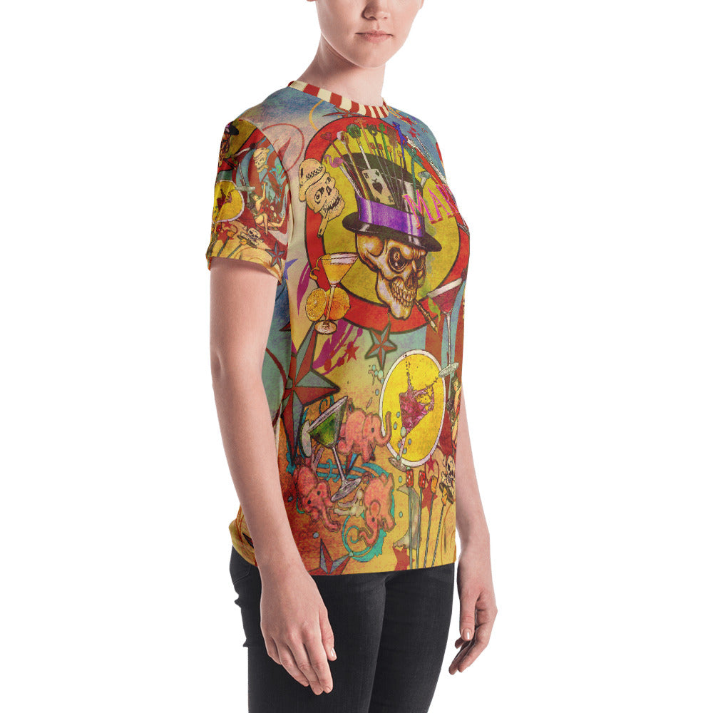 """THE MARTINI TATTOO TEE""; Women's T-shirt"