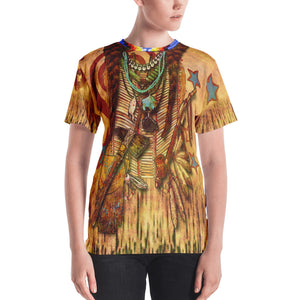 """THE POW-WOW TEE"" ; Women's T-shirt"