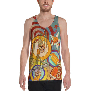 "THE ""DREAM CYCLE TATTOO TANK"", Unisex Tank Top"