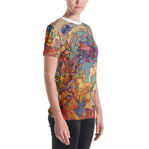 "THE BLUEBIRD TATTOO TEE""; Women's T-shirt"