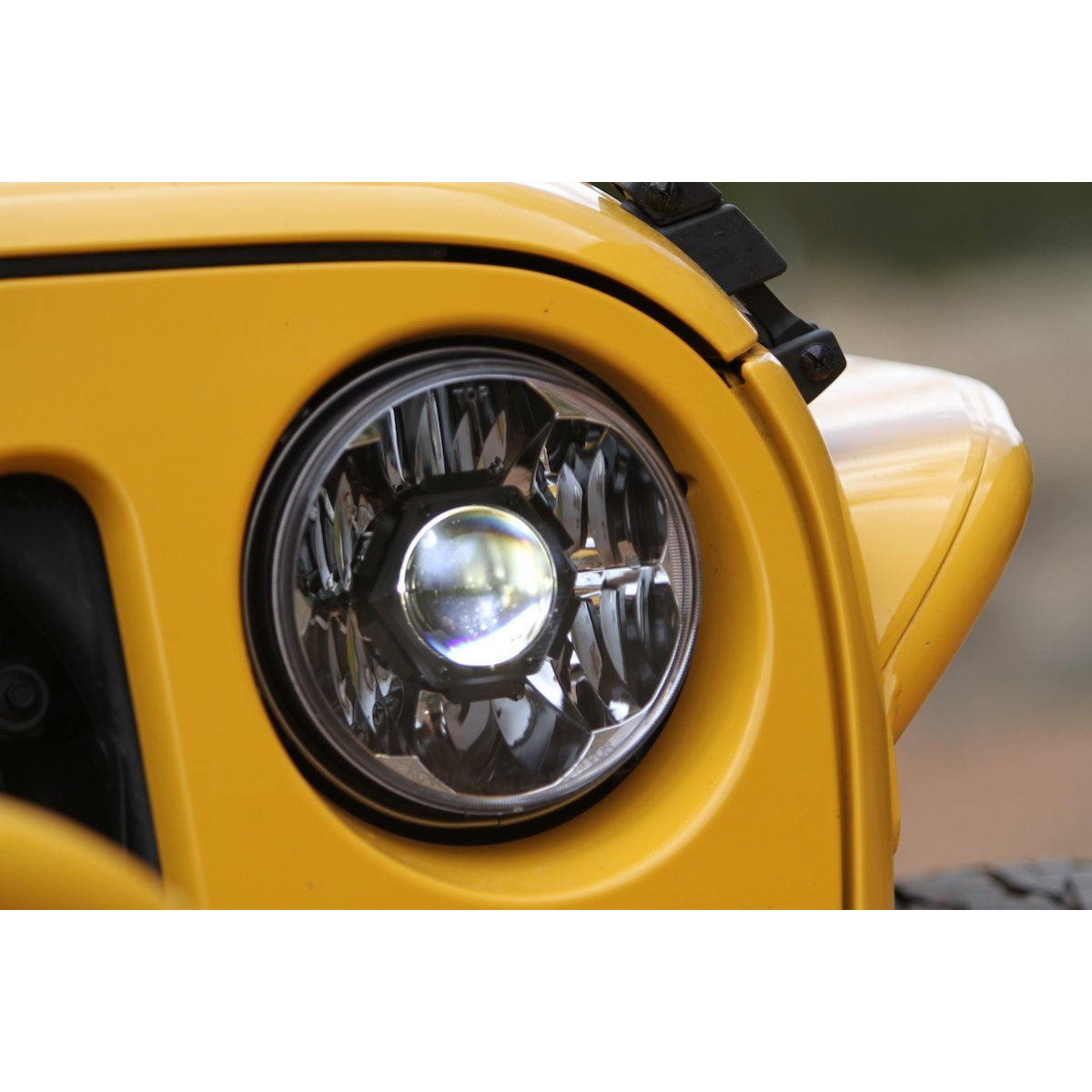 "Gravity® LED Pro 7"" Headlight for Jeep DOT Compliant"