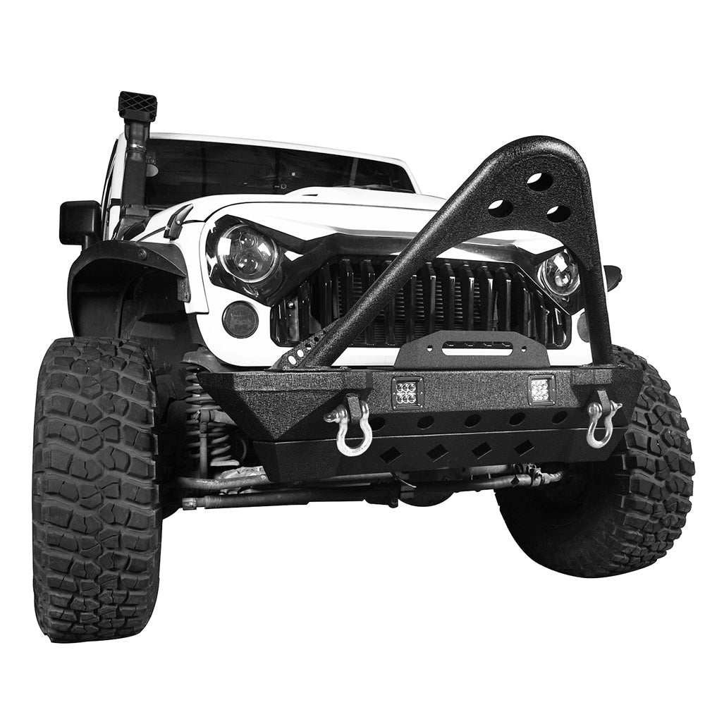 1440V Stinger Front Bumper w/ LED Auxiliary Lighting