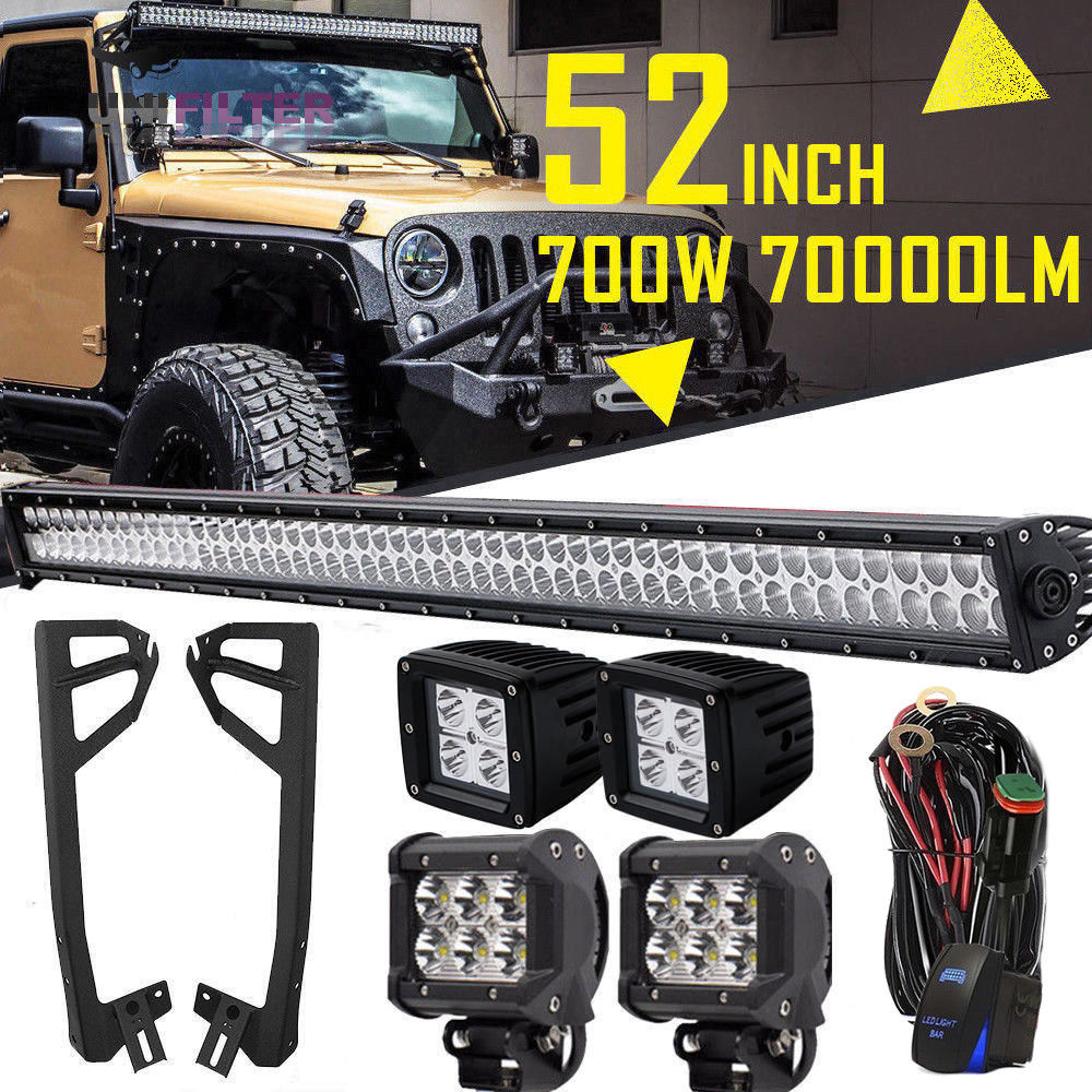 Gladiator Gear Ultra High Output C44 Off-Road Lighting Kit
