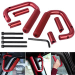 Gladiator Gear Aluminum Alloy Front & Rear Grab Handle Bars