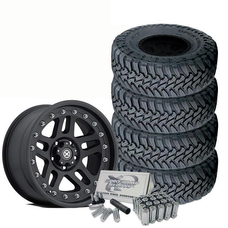GG: Pro-Series Full Tire & Wheel Kit