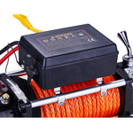 Overland PRO 12,000 LB Synthetic Line Recovery Winch