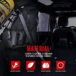Rear Roll Bar Storage Bags for 4DR Jeep JK