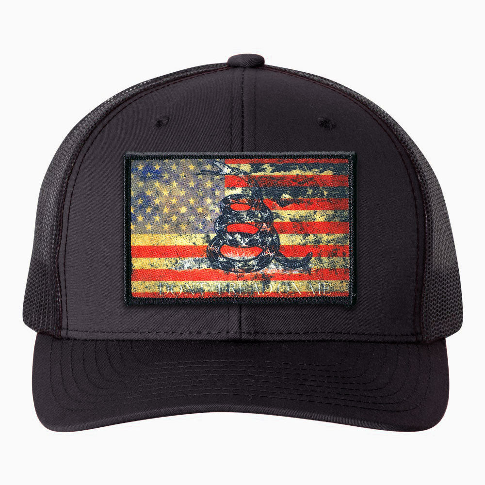 USA Vintage - Gadsden Flag Patch Hat