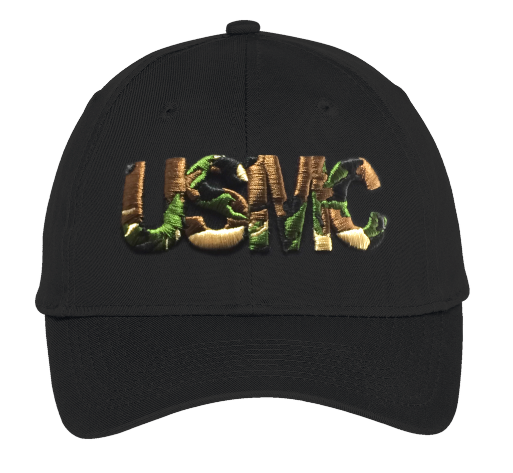 Stealth USMC Hat-Black