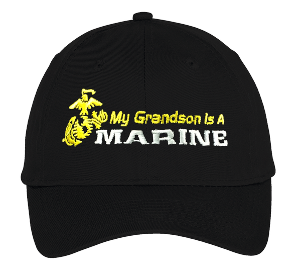 MY Grandson is a Marine USMC Hat