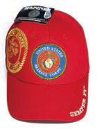 USMC Seal with Shadow Marines Hat