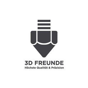 3D FREUNDE V6 Hot-End Kit: All Metal + Teflon J-head Bowden 0.4mm Düse Teflon Schlauch Lüfter PC4-m6 Push-Fit 1.75mm - 3D Drucker: Anycubic Creality Anet und weitere