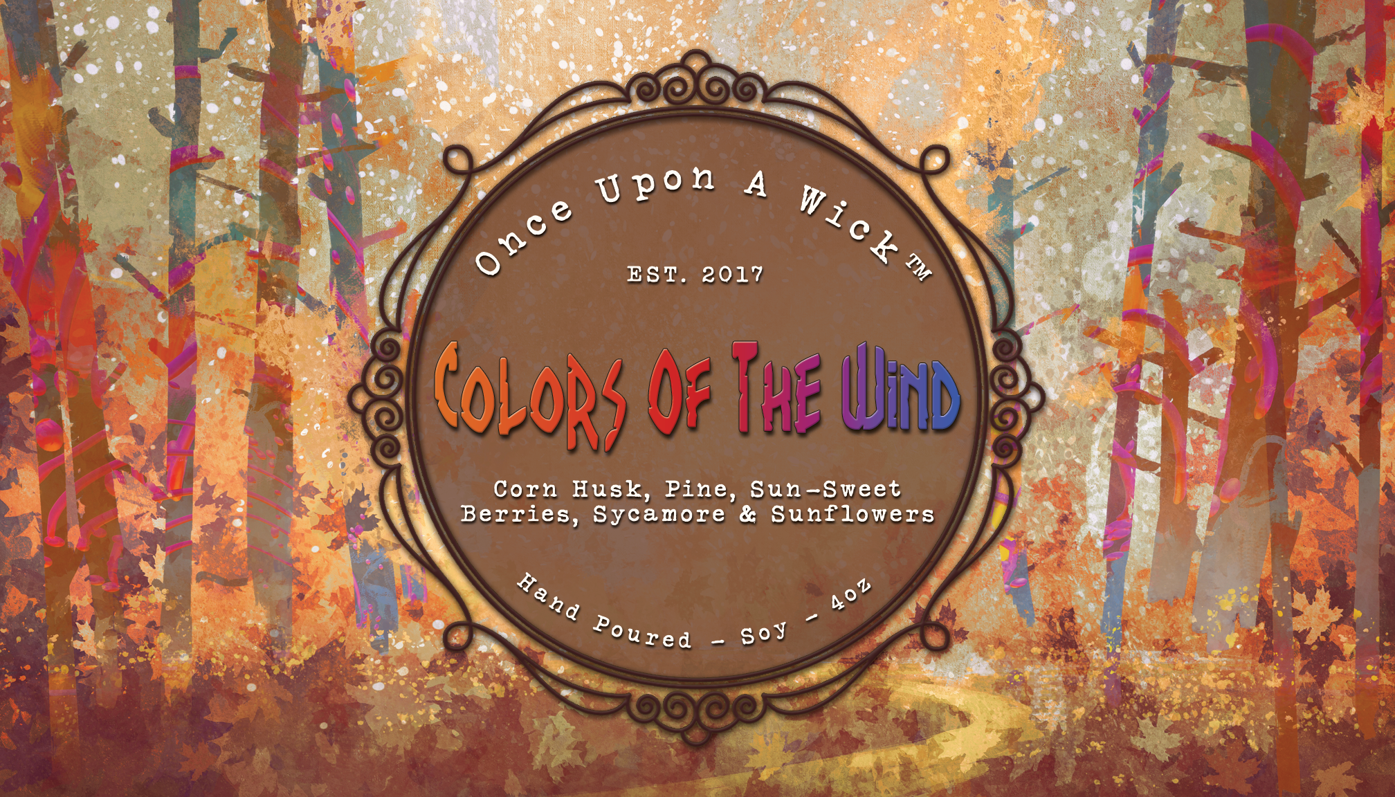 Colors of the Wind | Pocahontas Inspired Soy Candle