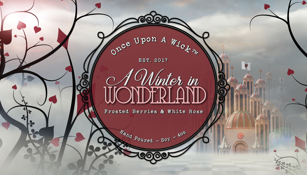 A Winter in Wonderland | Alice in Wonderland Inspired Soy Candle