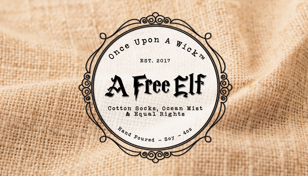 A Free Elf | Dobby Inspired Soy Candle
