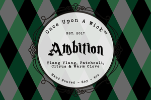 House Pride - Ambition | Slytherin Inspired Soy Candle