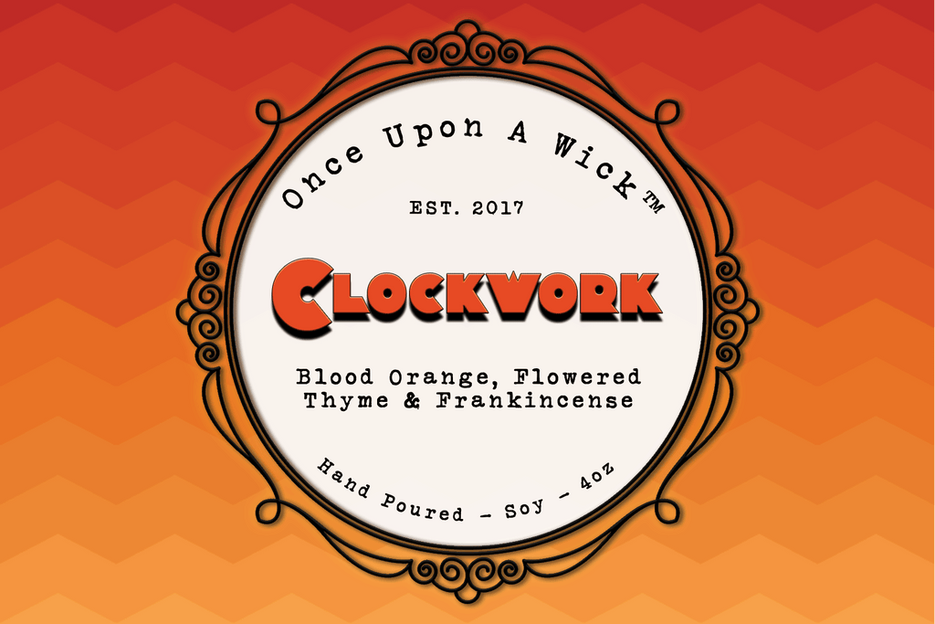 Clockwork | A Clockwork Orange Inspired Soy Candle