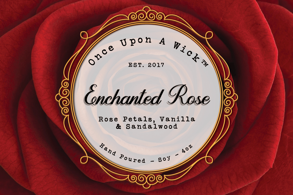 Enchanted Rose | Beauty and the Beast Inspired Soy Candle