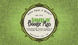Gamblin' Boogie Man | A Nightmare Before Christmas Inspired Soy Candle
