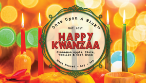 Happy Kwanzaa | Kwanzaa Inspired Soy Candle