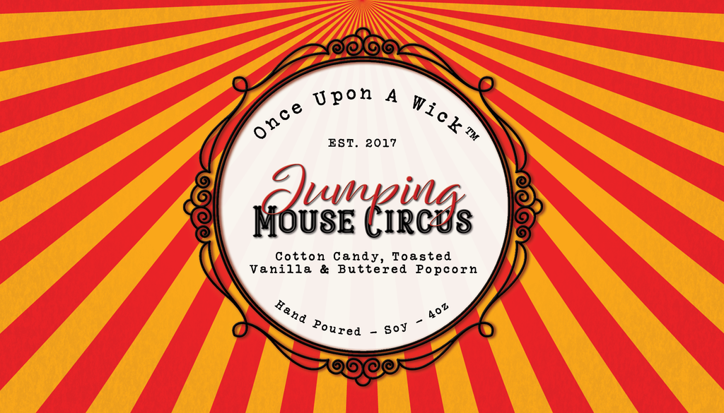 Jumping Mouse Circus | Coraline Inspired Soy Candle