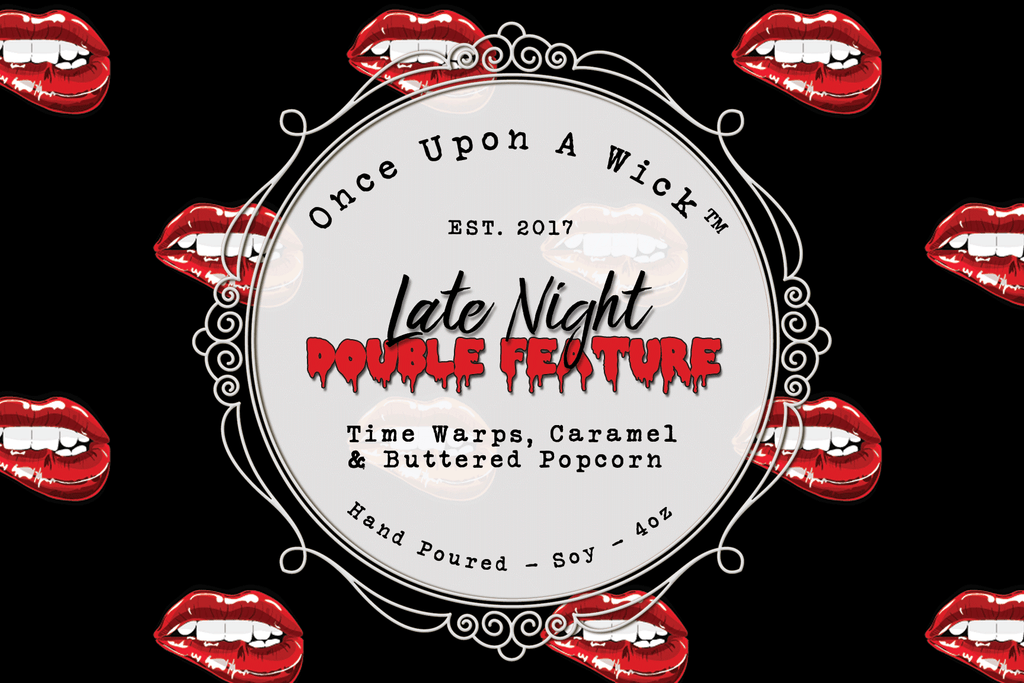 Late Night Double Feature | The Rocky Horror Picture Show Inspired Soy Candle