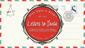 Letters to Santa | Christmas Inspired Soy Candle
