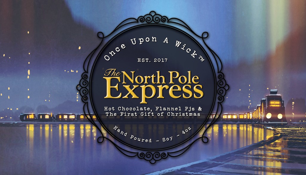 The North Pole Express | The Polar Express Inspired Soy Candle