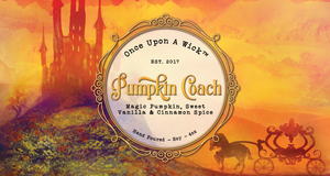 Pumpkin Coach | Cinderella Inspired Soy Candle