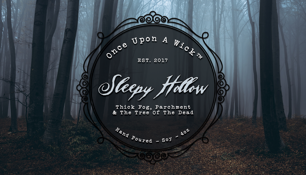 Sleepy Hollow | The Legend of Sleepy Hollow Inspired Soy Candle