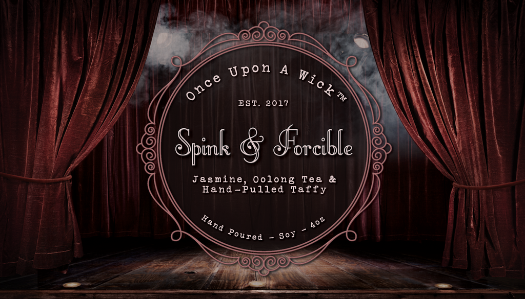 Spink & Forcible | Coraline Inspired Soy Candle