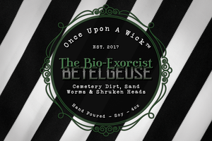 The Bio-Exorcist | Beetlejuice Inspired Soy Candle