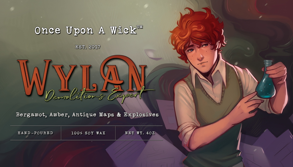 Wylan | Six of Crows Inspired Soy Candle