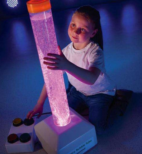 Interactive Battery Bubble Tube