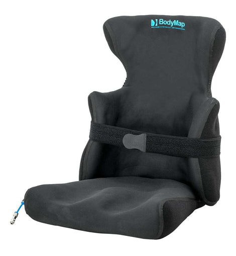 Positioning chair with headrest and lateral support BodyMap® AC