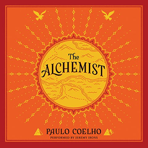 """""""The Alchemist"""" book cover"""