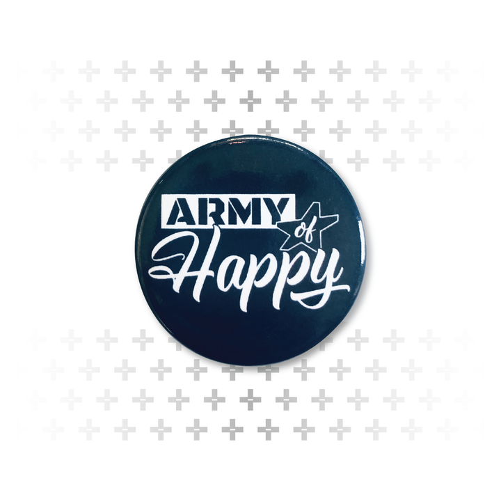 Dueling Font Button - Army of Happy