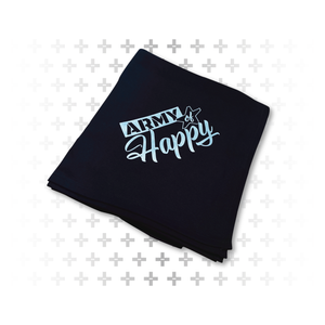 "Fleece Blanket 62"" x 78"" - Army of Happy"