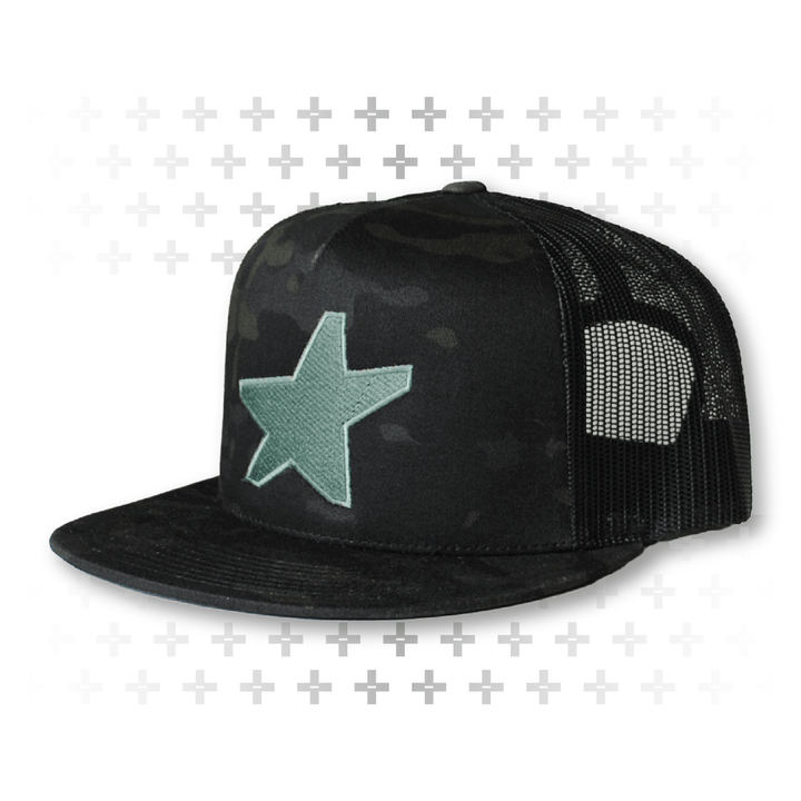 Black Camo DS Trucker - Army of Happy