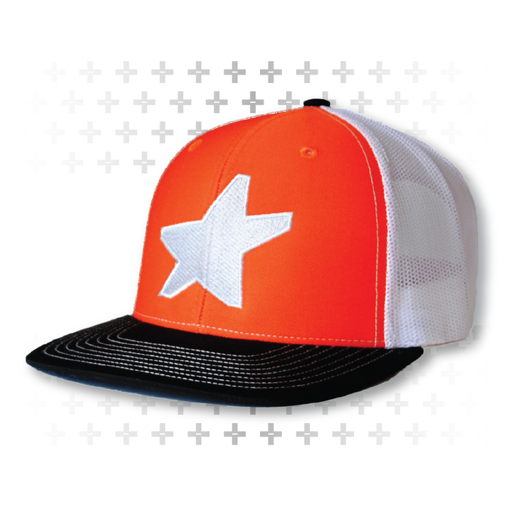 Fire orange DS Snapback - Army of Happy