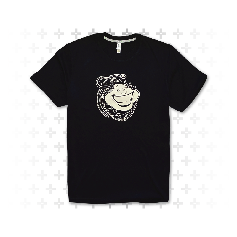 Reflective Giggle Grenade Tee - Army of Happy
