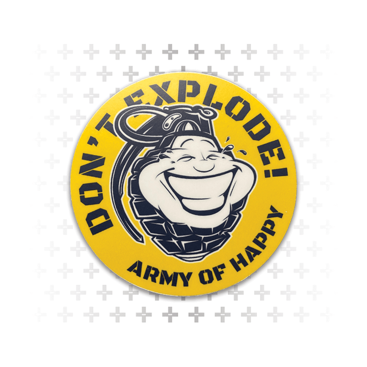 "Don't Explode 3"" Sticker"