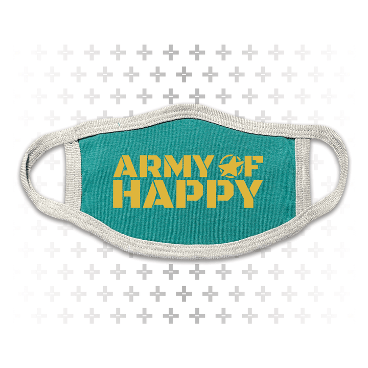 Logo Face Mask - Army of Happy